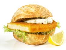 Tofuschnitzel Im Brötchen - Fleischloser Tofu Burger