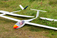 Flying Model Plane With Dummy Pilot Used For Aeromodelling