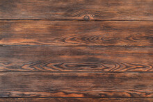 Brown Wooden Background, Texture Or Surface, Close-up Of Wood For Copy Space Text And Other Design