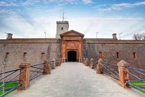 Montjuic Castle, Barcelona, Spain © TTstudio