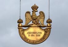 Commemorative Plaque - Austerlitz Batlle Victory - Napoleonic Empire - Strasbourg