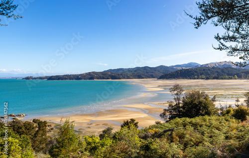 Fototapeta Baie du parc Abel Tasman, Nouvelle Zélande