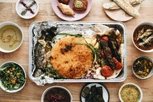 Persian Food Dinner At Home