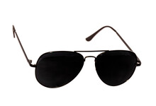 Fashionable  Sun Glasses Aka Goggles With White  Background Showing A Front View
