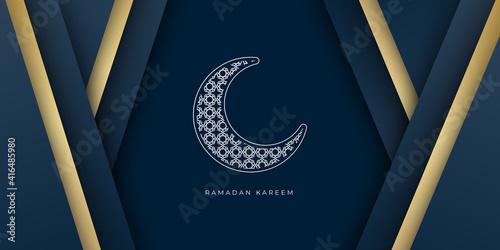 Carta da parati ramadan kareem arabic calligraphy islamic greeting card background vector illustration