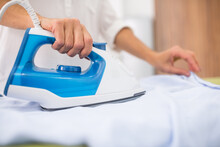 Convenient Iron When Ironing White Fabric