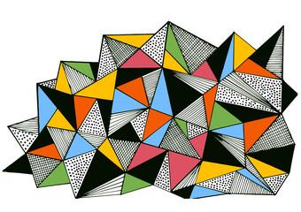 abstrakcja trójkąty