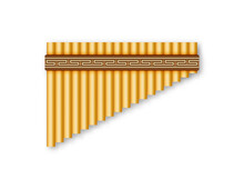 Wind Musical Instruments. Music. Vector Illustration EPS10