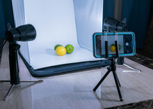 Behind The Scene Of Mobile Product Photography