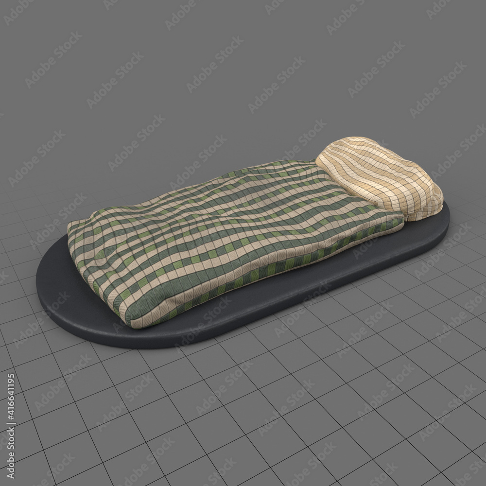 Fototapeta Miniature blanket