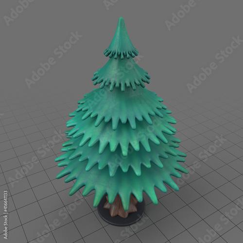 Fototapeta Miniature fir tree obraz