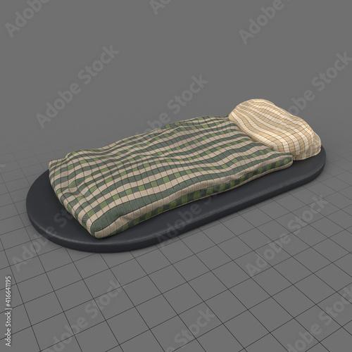 Fototapeta Miniature blanket obraz