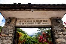 Settlers Cemetery In Pozuzo - Oxapampa