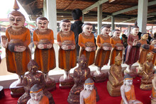 Spirit Nats And Other Buddhist Figurines