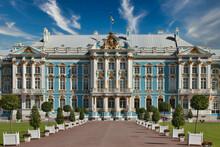 Petersburg, Russia - June 29, 2017: Katherine's Palace Hall In Tsarskoe Selo Pushkin , Russia.