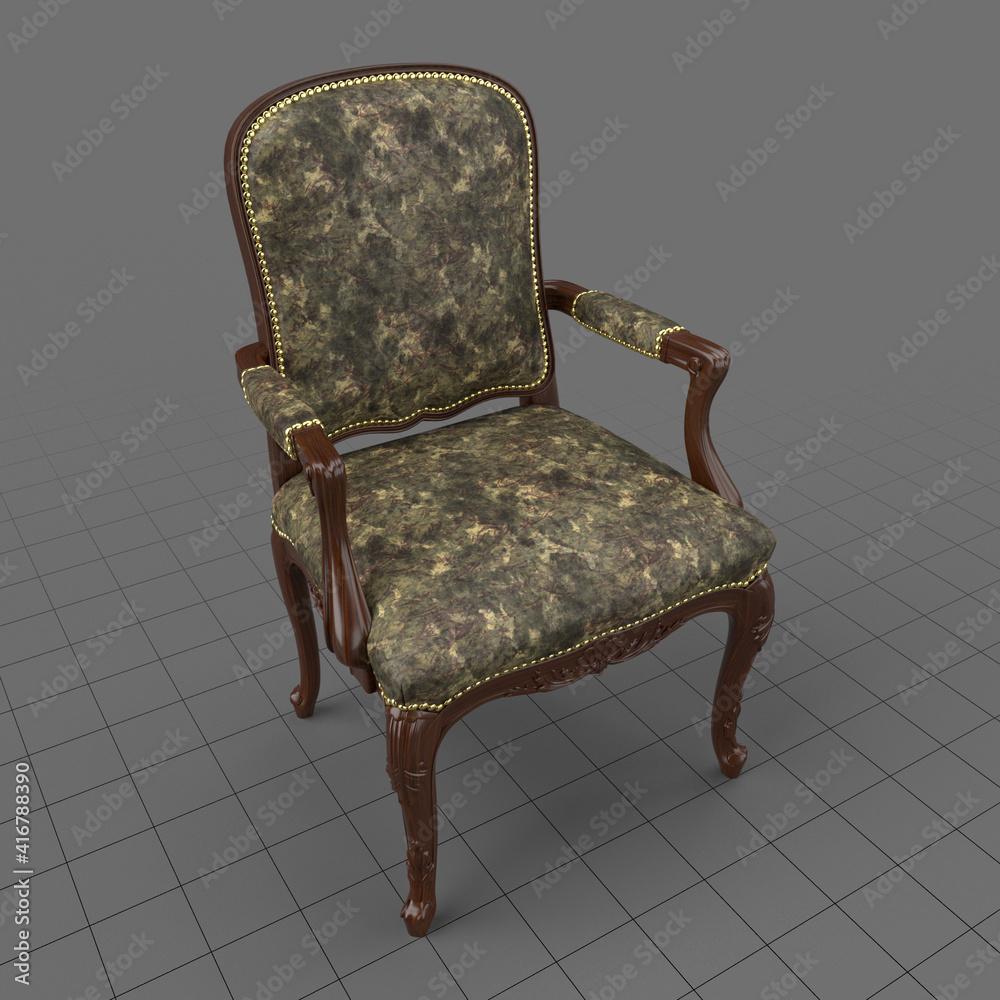 Fototapeta Vintage armchair