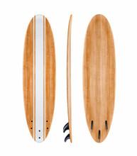 Vintage Surfboard Isolated