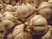 Garlic Is Taken From A Different Angle In The Market