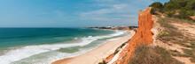 Albufeira Coast, Algarve, Portugal In Spring