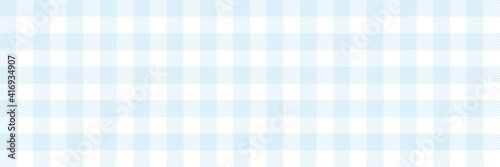 Fotografie, Obraz blue and white checkered background, plaid texture seamless pattern fabric check