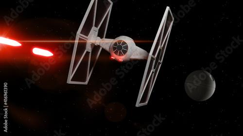 Fotografia Tie Fighter Star Wars