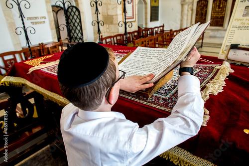 Photo The 4 sephardic synagogues, Jerusalem old city, Israel