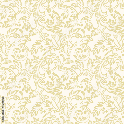 Papel de parede Baroque wallpaper