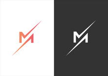 Modern Letter M Abstract Logo And Icon Design Template In Vector