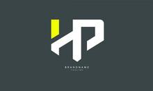 Alphabet Letters Initials Monogram Logo HP, PH, H And P