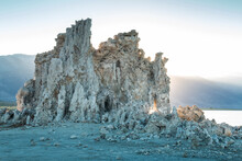 Dramatic Images Of The Surreal Landscape Of Mono Lake In The Sierra Nevada Taken During The Golden Hours Of Summer.