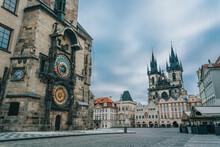 Astronomical Clock In Prague -Orloj