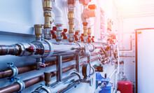 Boiler Room Equipment For Modern Heating System