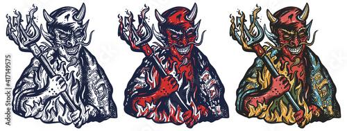 Fotografia Evil devil