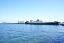 Hikawa Maru Cargo-passenger Liner, View From Yamashita Park In Yokohama, Japan - 氷川丸 山下公園からの眺望 横浜 日本