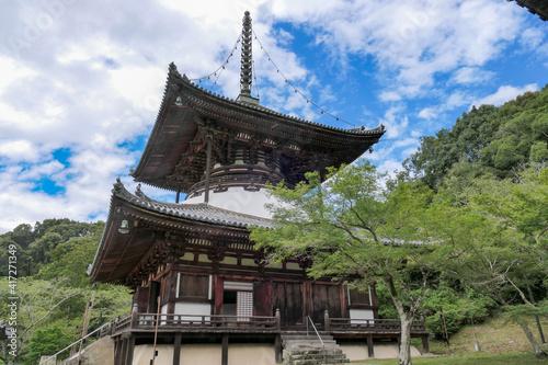 Obraz na plátne 根来寺の大塔