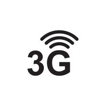 3g Icon Symbol Sign Vector