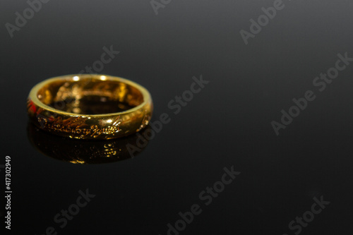 Fotografía One Ring from lord of the rings