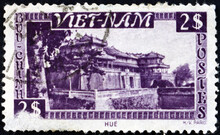 Postage Stamp Vietnam 1951 Imperial Palace, Hue