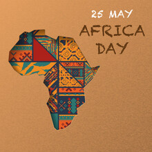 African Continent Day Background