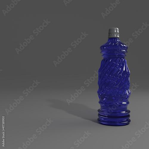 Obraz glass bottle - fototapety do salonu