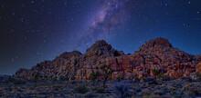 Nightime In Joshua Tree National Park