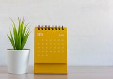 Flip Calendar For June 2021. Desktop Calendar For Planning, Scheduling, Assigning, Organizing, Managing Each Date