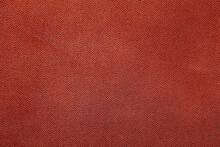 Brown Fine Grain Leather Texture Background