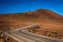 Road At Haleakala National Park - Maui, Hawaii, USA