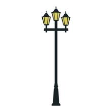 Street Lamp Vector Illustration