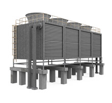 Cooling Tower Isolated