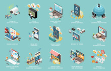 Digital Transformation Icons