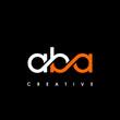 ABA Letter Initial Logo Design Template Vector Illustration