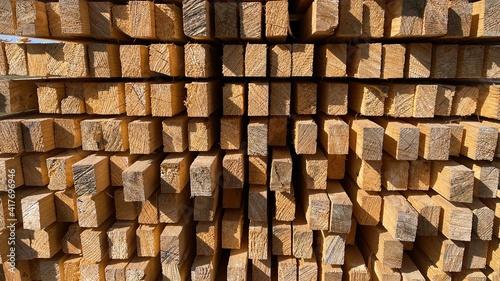 Canvas Print Holz Latten