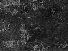 Black Grunge Scratched Metal Background, Scary Distressed Horror Texture